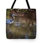 Blue Heron Stalking  Tote Bag