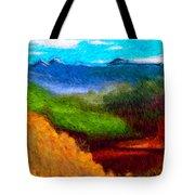 Blue Hills Tote Bag