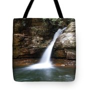 Blue Hole In Spring #1 Tote Bag