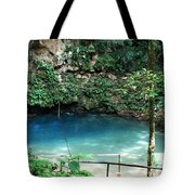 Blue Hole National Park Tote Bag