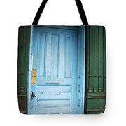 Blue Home Tote Bag