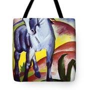 Blue Horse I 1911 Tote Bag
