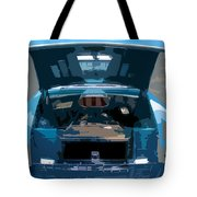 Blue Hot Rod Tote Bag