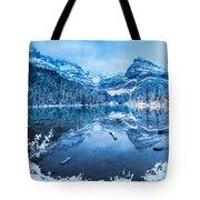 Blue Hour At Lake O'hara Tote Bag