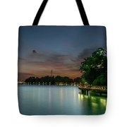 Blue Hour Harbourfront Singapore Tote Bag