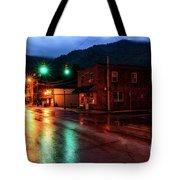 Blue Hour In Webster Springs Tote Bag