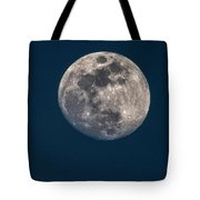 Blue Hour Moon Tote Bag