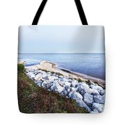 Blue Hour On Choctawhatchee Bay Tote Bag