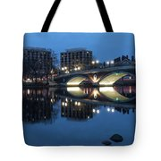 Blue Hour On The Charles Tote Bag