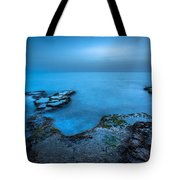 Blue Hour Sunset Tote Bag