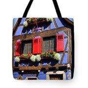 Blue House # I Tote Bag