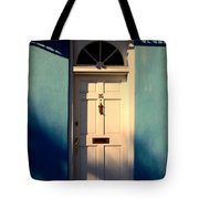 Blue House Door Tote Bag by Susanne Van Hulst