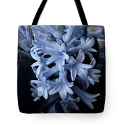 Blue Hyacinth Tote Bag