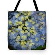 Blue Hydrangea Bouquet Tote Bag