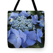 Blue Hydrangea Buds Tote Bag
