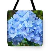 Blue Hydrangea Floral Art Print Hydrangeas Flowers Baslee Troutman Tote Bag