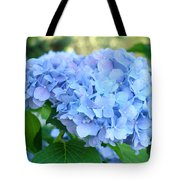 Blue Hydrangea Flowers Art Botanical Nature Garden Prints Tote Bag