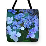 Blue Hydrangea Flowers Floral Art Baslee Troutman Tote Bag