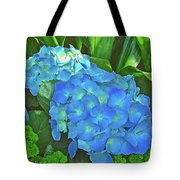 Blue Hydrangea In Bellingrath Gardens In Mobile, Alabama2 Tote Bag