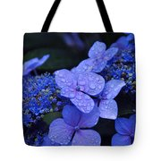 Blue Hydrangea Tote Bag by Noah Cole