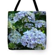Blue Hydrangeas Art Prints Hydrangea Flowers Giclee Baslee Troutman Tote Bag