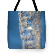 Blue Ice 5 Tote Bag