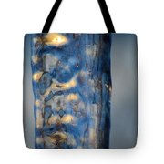 Blue Ice 6 Tote Bag