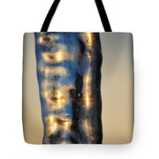 Blue Ice 7 Tote Bag