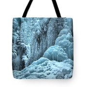 Blue Ice Flows At Tangle Falls Tote Bag