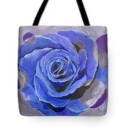 Blue Ice Tote Bag by Herschel Fall