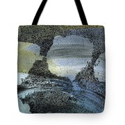 Blue Ice Pond 2  Tote Bag