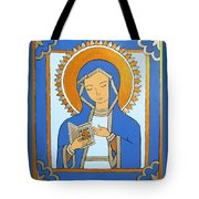 Blue Icon Tote Bag