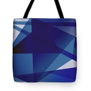 Blue In Blue Tote Bag