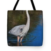 Blue In May Tote Bag