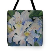 Blue In The Morning Tote Bag