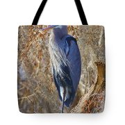 Blue In The Moss Tote Bag