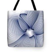 Blue Invert Tote Bag