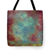 Blue Iron Texture Painting Tote Bag