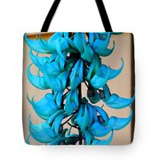 Blue Jade Strand Tote Bag