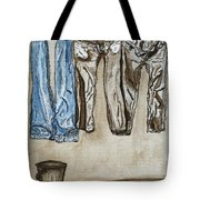 Blue Jeans. Tote Bag