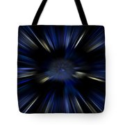Blue Jets Pattern Tote Bag