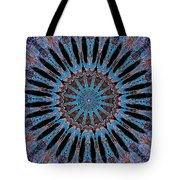 Blue Jewel Starlet Tote Bag