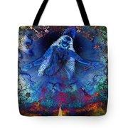 Blue Jogini Tote Bag