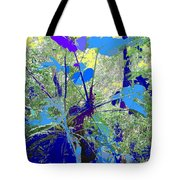 Blue Jungle Tote Bag