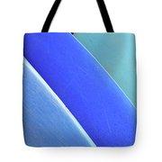 Blue Kayaks Tote Bag by Brandon Tabiolo - Printscapes