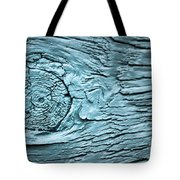 Blue Knot Tote Bag