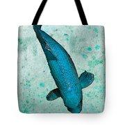 Blue Koi Tote Bag