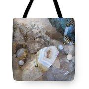 Blue Lace Agate S18 Tote Bag