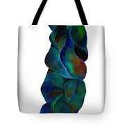 Blue Ladder Tote Bag