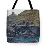 Blue Lagoon 2 Abereiddy Wales Tote Bag